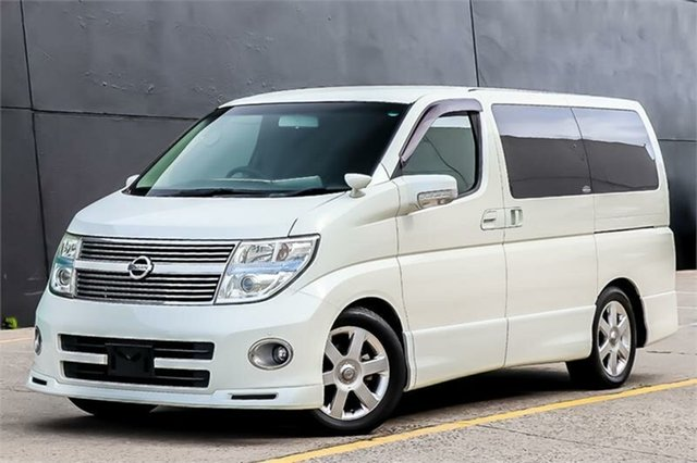 Used Nissan Elgrand E51 Highway Star, 2007 Nissan Elgrand E51 Highway Star White 5 Speed Automatic Wagon