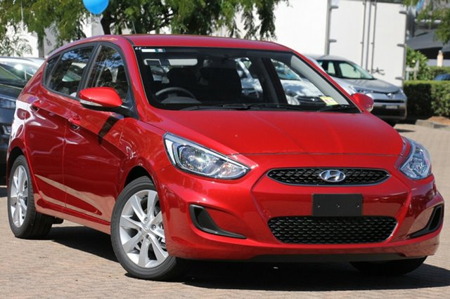 New Hyundai Accent RB6 MY19 Sport, 2019 Hyundai Accent RB6 MY19 Sport Pulse Red 6 Speed Sports Automatic Hatchback