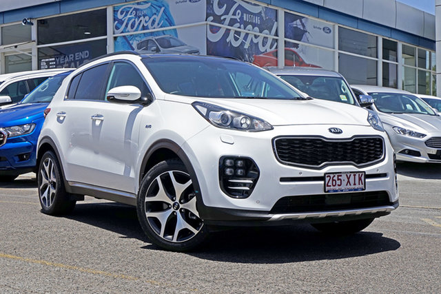 Used Kia Sportage QL MY17 GT-Line AWD, 2017 Kia Sportage QL MY17 GT-Line AWD White 6 Speed Sports Automatic Wagon
