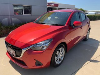 2017 Mazda 2 DJ2HAA Neo SKYACTIV-Drive Red 6 Speed Sports Automatic Hatchback