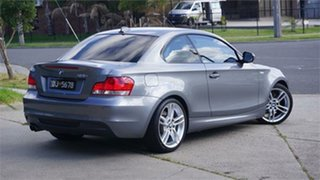 2010 BMW 125i E82 Deluxe Grey 6 Speed Automatic Coupe