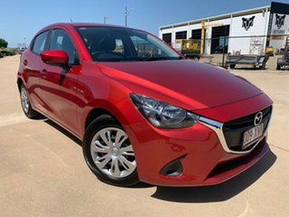 2017 Mazda 2 DJ2HAA Neo SKYACTIV-Drive Red 6 Speed Sports Automatic Hatchback.
