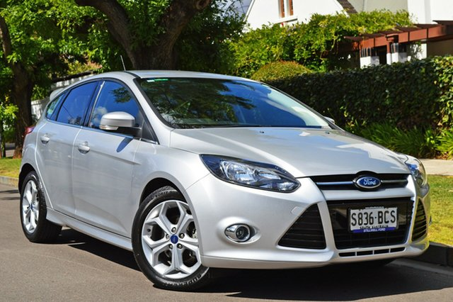 Used Ford Focus LW MkII Sport PwrShift, 2013 Ford Focus LW MkII Sport PwrShift Silver 6 Speed Sports Automatic Dual Clutch Hatchback