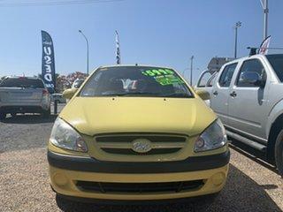 2008 Hyundai Getz S Yellow 5 Speed Manual Hatchback.