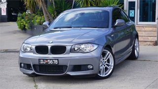 2010 BMW 125i E82 Deluxe Grey 6 Speed Automatic Coupe.