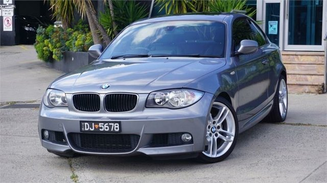 Used BMW 125i E82 Deluxe, 2010 BMW 125i E82 Deluxe Grey 6 Speed Automatic Coupe