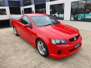 2009 Holden Commodore Ute VE SV6 Red Automatic Utility.