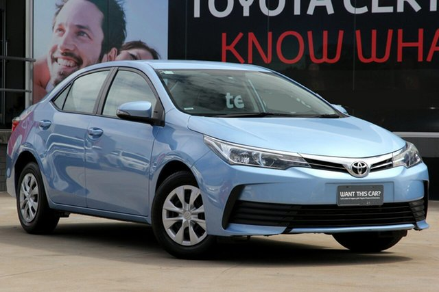 Used Toyota Corolla ZRE172R Ascent S-CVT, 2018 Toyota Corolla ZRE172R Ascent S-CVT Blue Mist 7 Speed Constant Variable Sedan