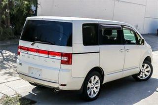 2008 Mitsubishi Delica D:5 CV5W White 6 Speed Constant Variable Van Wagon