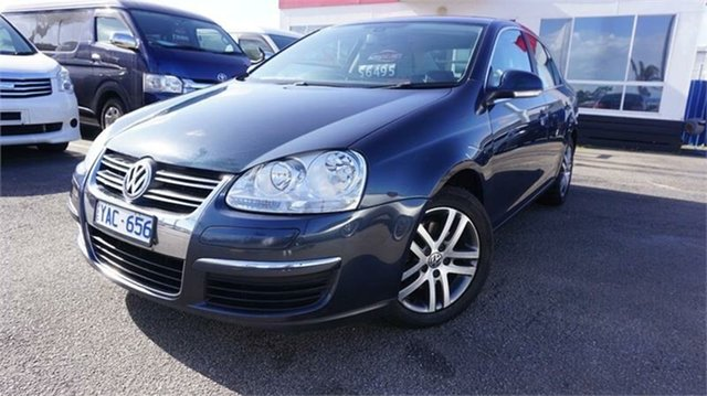 Used Volkswagen Jetta 1KM FSI, 2008 Volkswagen Jetta 1KM FSI Blue 6 Speed Sports Automatic Sedan