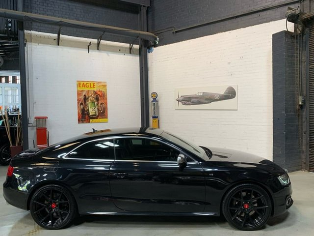 Used Audi S5 8T MY11 Quattro, 2011 Audi S5 8T MY11 Quattro Black 6 Speed Sports Automatic Coupe