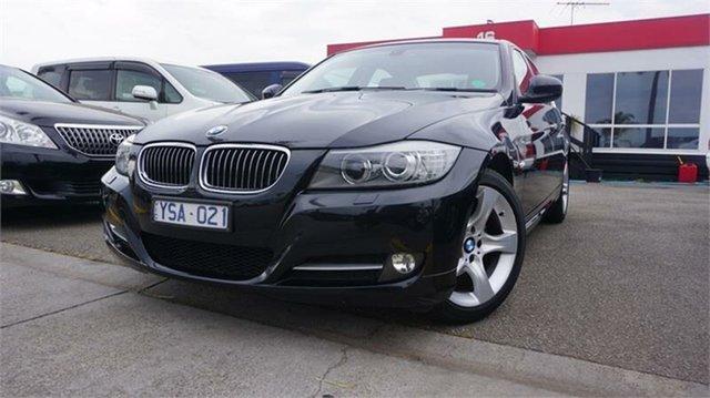 Used BMW 320i 3 , 2011 BMW 320i 3 Black Automatic Sedan