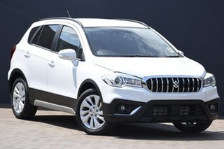 2019 Suzuki S-Cross JY Turbo White 6 Speed Sports Automatic Hatchback.