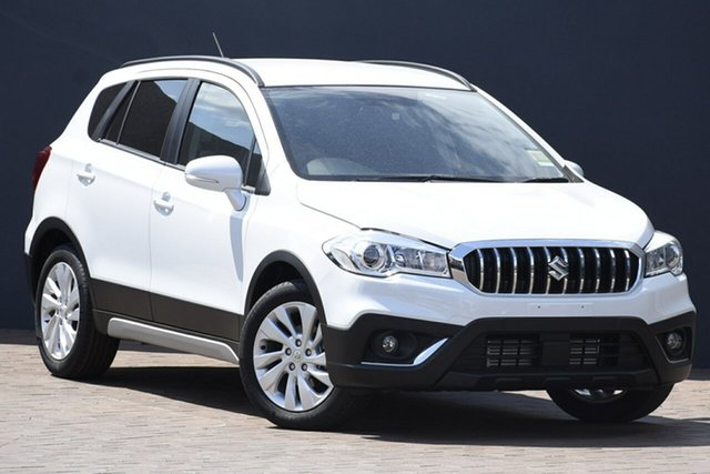 New Suzuki S-Cross JY Turbo Maitland, 2021 Suzuki S-Cross JY Turbo White 6 Speed Sports Automatic Hatchback