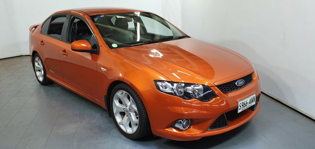 Used Ford Falcon FG XR6 Limited Edition, 2011 Ford Falcon FG XR6 Limited Edition Orange 6 Speed Sports Automatic Sedan