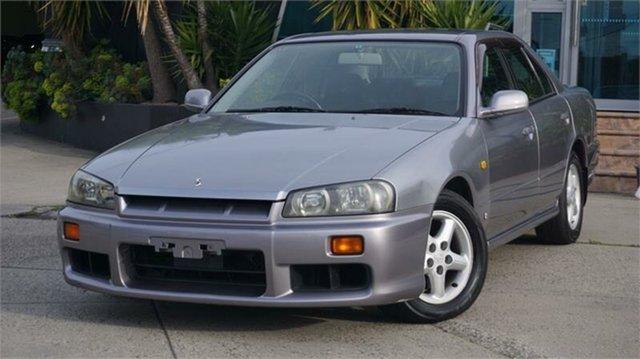 Used Nissan Skyline R34 25GT, 1999 Nissan Skyline R34 25GT Grey 4 Speed Automatic Sedan