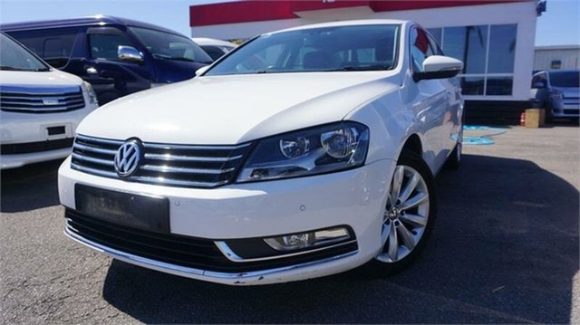Used Volkswagen Passat Type 3C 118TSI, 2013 Volkswagen Passat Type 3C 118TSI White 7 Speed Sports Automatic Dual Clutch Sedan