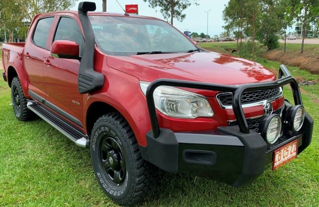 Used Holden Colorado RG MY14 LT Crew Cab, 2013 Holden Colorado RG MY14 LT Crew Cab Red 6 Speed Manual Utility
