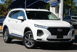 2020 Hyundai Santa Fe TM.2 MY20 Elite White Cream 8 Speed Sports Automatic Wagon