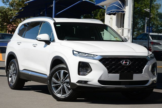 New Hyundai Santa Fe TM.2 MY20 Elite CRDi (AWD) Castle Hill, 2020 Hyundai Santa Fe TM.2 MY20 Elite CRDi (AWD) White 8 Speed Automatic Wagon