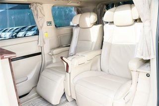 2012 Toyota Alphard ATH20 Hybrid Black Continuous Variable Wagon