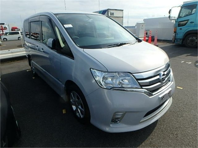 Used Nissan Serena  Highway Star, 2013 Nissan Serena HFC26 Highway Star White Automatic