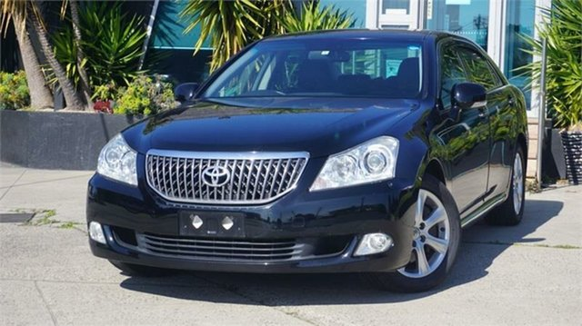 Used Toyota Crown  , 2010 Toyota Crown Majesta Black 8 Speed Automatic Sedan