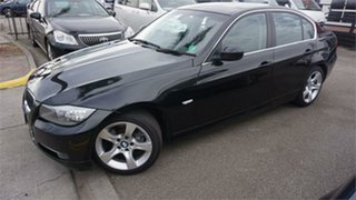 2011 BMW 320i 3 Black 6 Speed Automatic Sedan