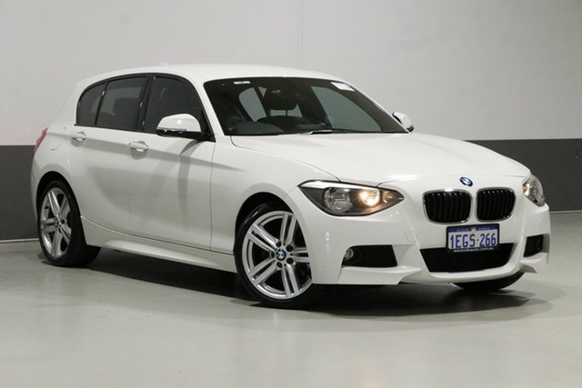 Used BMW 118i F20 , 2013 BMW 118i F20 White 8 Speed Automatic Hatchback