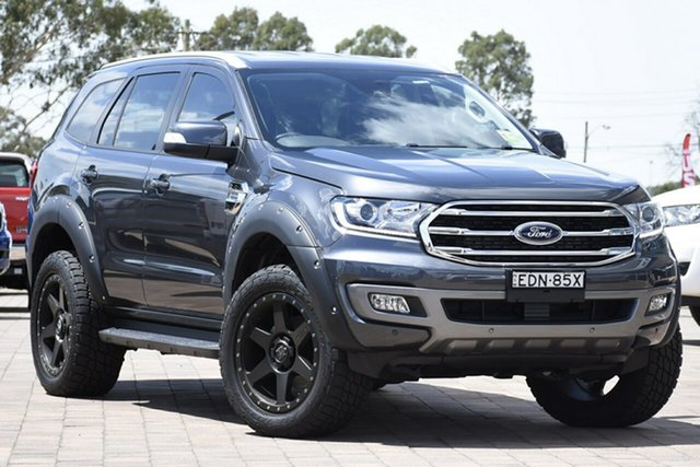 Demo Ford Everest UA II 2019.75MY Trend 4WD, 2019 Ford Everest UA II 2019.75MY Trend 4WD Meteor Grey 10 Speed Sports Automatic SUV