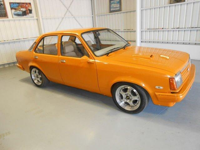 Used Holden Gemini TE SL, 1981 Holden Gemini TE SL Orange Manual Sedan
