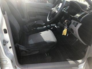 2011 Mitsubishi Triton MN MY12 GLX Double Cab White 4 Speed Automatic Utility