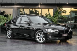 2012 BMW 320d F30 MY0812 320d Black 8 Speed Sports Automatic Sedan.