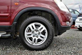 2003 Honda CR-V MY03 (4x4) Sport Red 4 Speed Automatic Wagon