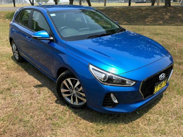 Used Hyundai i30 PD2 MY18 Active, 2018 Hyundai i30 PD2 MY18 Active Marina Blue 6 Speed Sports Automatic Hatchback