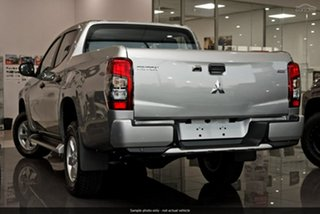 2019 Mitsubishi Triton MR MY19 GLX+ Double Cab Silver 6 Speed Manual Utility