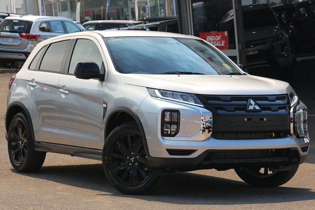 New Mitsubishi ASX XD MY21 MR 2WD, 2020 Mitsubishi ASX XD MY21 MR 2WD Sterling Silver 1 Speed Constant Variable Wagon