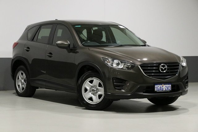 Used Mazda CX-5 MY15 Maxx (4x4), 2016 Mazda CX-5 MY15 Maxx (4x4) Grey 6 Speed Automatic Wagon