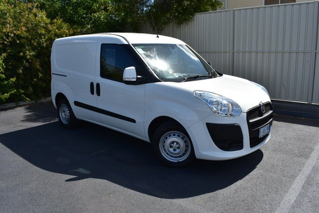 Used Fiat Doblo 263 Low Roof SWB Comfort-matic, 2015 Fiat Doblo 263 Low Roof SWB Comfort-matic White 5 Speed Sports Automatic Single Clutch Van