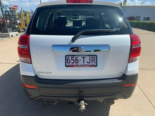 2014 Holden Captiva CG MY15 7 LS Snowflake Pearl/jet 6 Speed Sports Automatic Wagon.