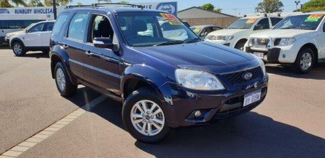 Used Ford Escape ZD MY10 , 2010 Ford Escape ZD MY10 Blue 4 Speed Automatic Wagon