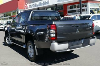 2019 Mitsubishi Triton MR MY19 GLX+ Double Cab Graphite Grey 6 Speed Manual Utility