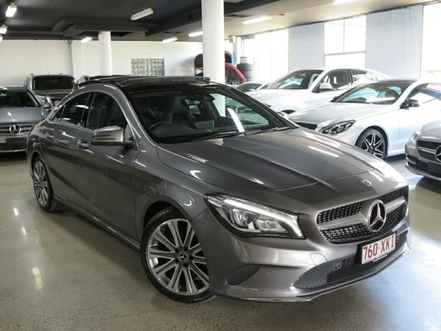 Used Mercedes-Benz CLA-Class C117 808MY CLA200 DCT, 2017 Mercedes-Benz CLA-Class C117 808MY CLA200 DCT Grey 7 Speed Sports Automatic Dual Clutch Coupe
