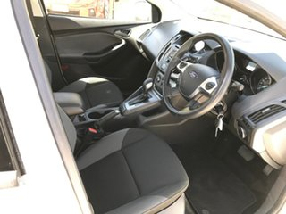2012 Ford Focus LW MkII Trend PwrShift White 6 Speed Sports Automatic Dual Clutch Sedan.
