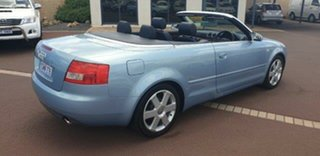 2003 Audi A4 B6 Multitronic Blue 1 Speed Constant Variable Cabriolet