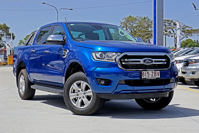 Used Ford Ranger PX MkIII 2019.75MY XLT Pick-up Double Cab, 2019 Ford Ranger PX MkIII 2019.75MY XLT Pick-up Double Cab Blue Lightning 10 Speed Sports Automatic