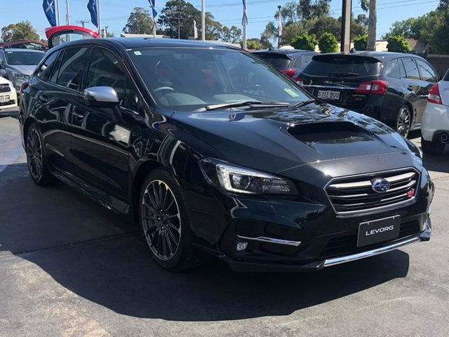 New Subaru Levorg V1 MY20 2.0 STI Sport CVT AWD, 2019 Subaru Levorg V1 MY20 2.0 STI Sport CVT AWD Crystal Black Silica 8 Speed Constant Variable