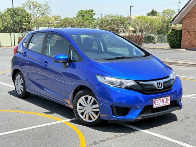 Used Honda Jazz GF MY16 VTi, 2016 Honda Jazz GF MY16 VTi Blue 1 Speed Constant Variable Hatchback