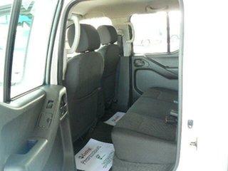 2015 Nissan Navara D40 RX Silverline SE (4x4) White 6 Speed Manual Dual Cab Pick-up