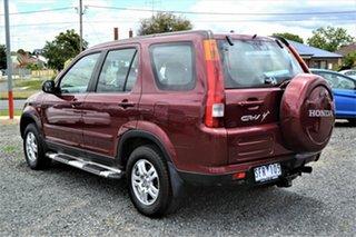 2003 Honda CR-V MY03 (4x4) Sport Red 4 Speed Automatic Wagon.
